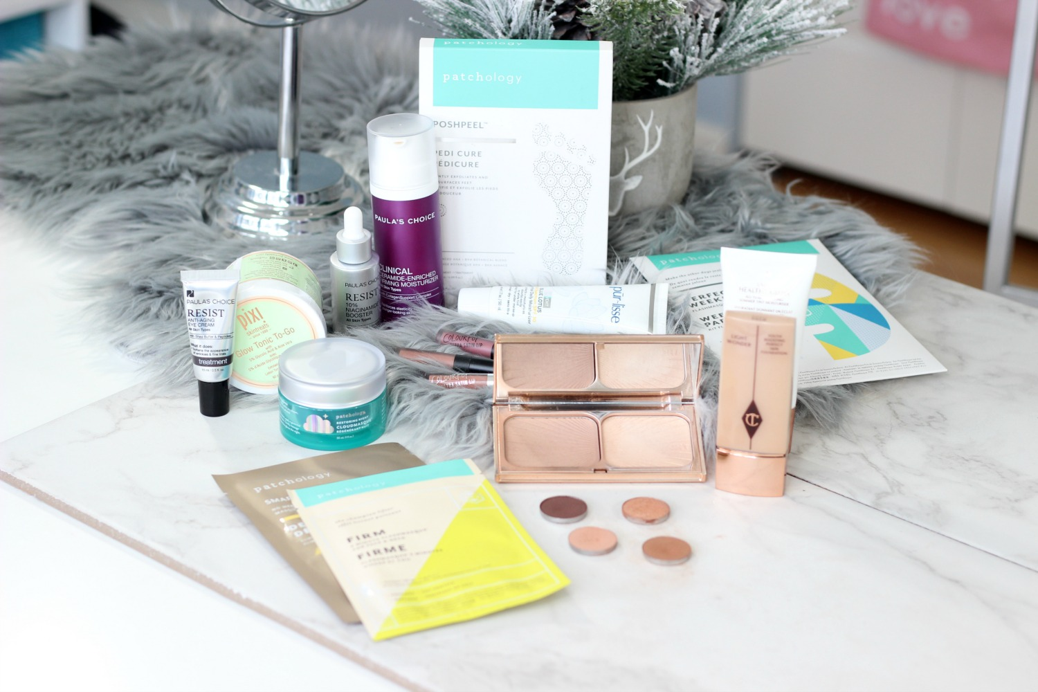 Brands I Learned About From Blogging   Purlisse, Patchology, Pixi Beauty, Charlotte Tilbury, Paula's Choice, ColourPop