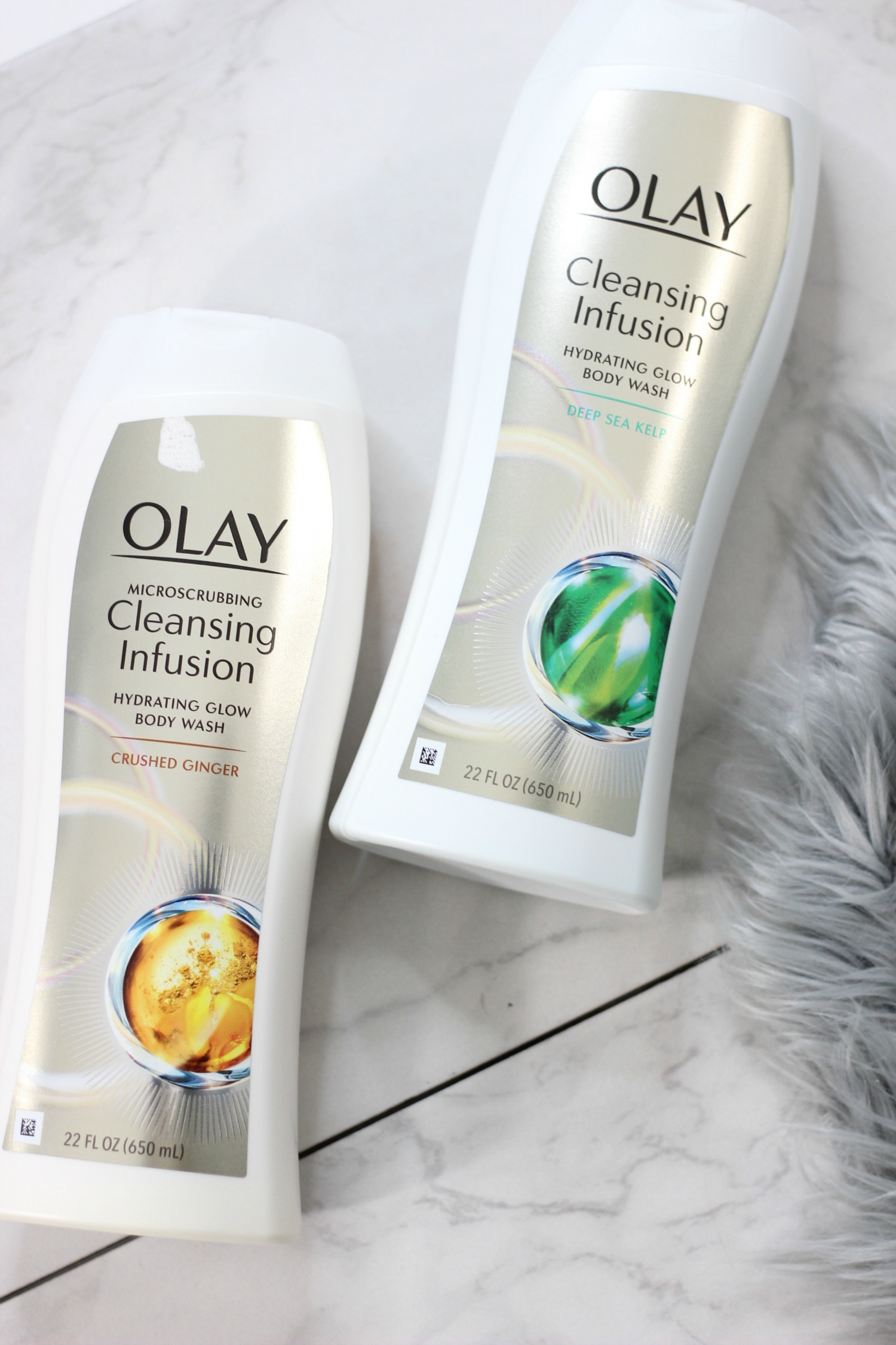 Time To Glow Up | New Beauty Habits For 2018 With Olay Cleansing Infusions Bodywash