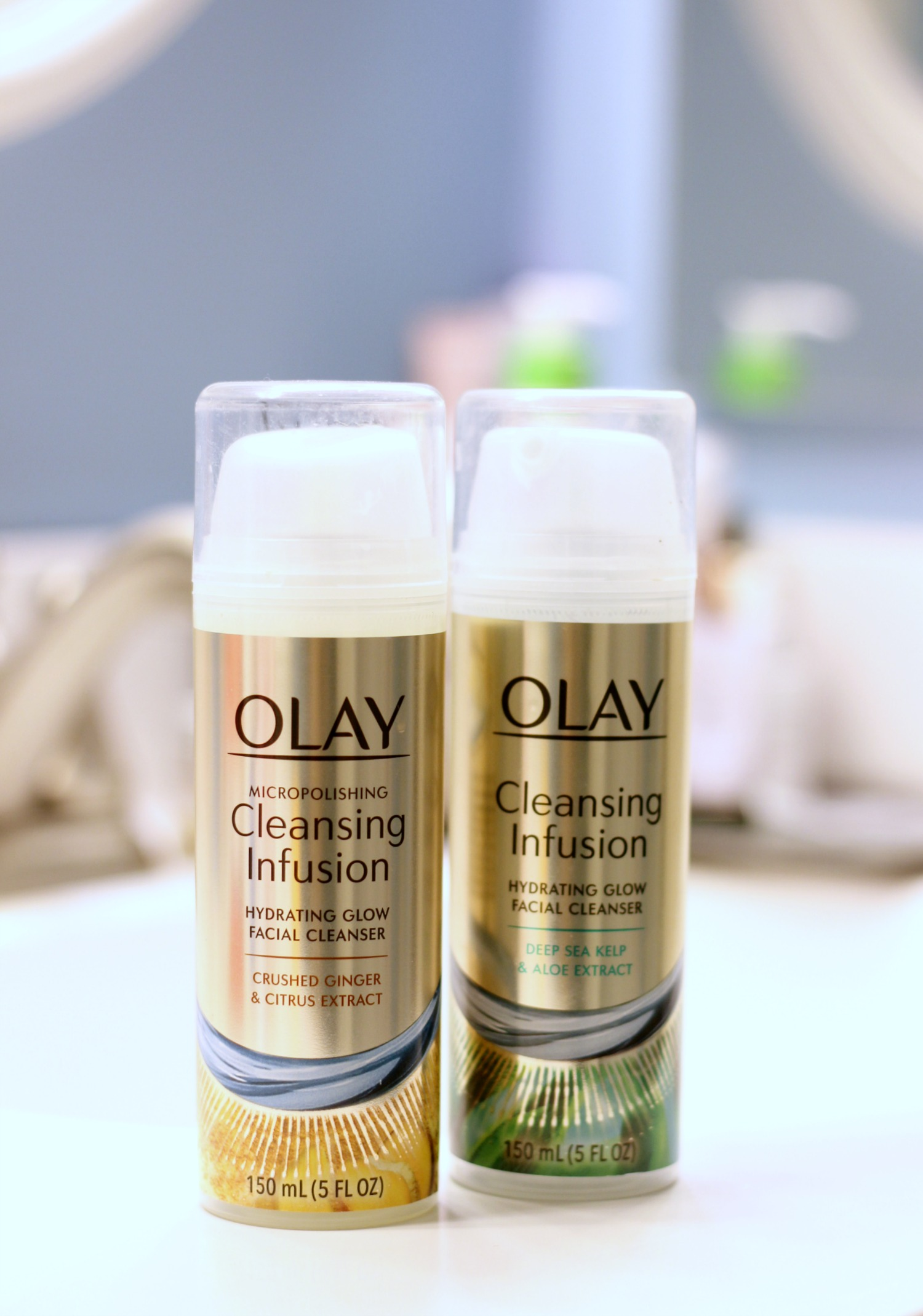 Time To Glow Up | New Beauty Habits For 2018 With Olay Cleansing Infusions Facewashes