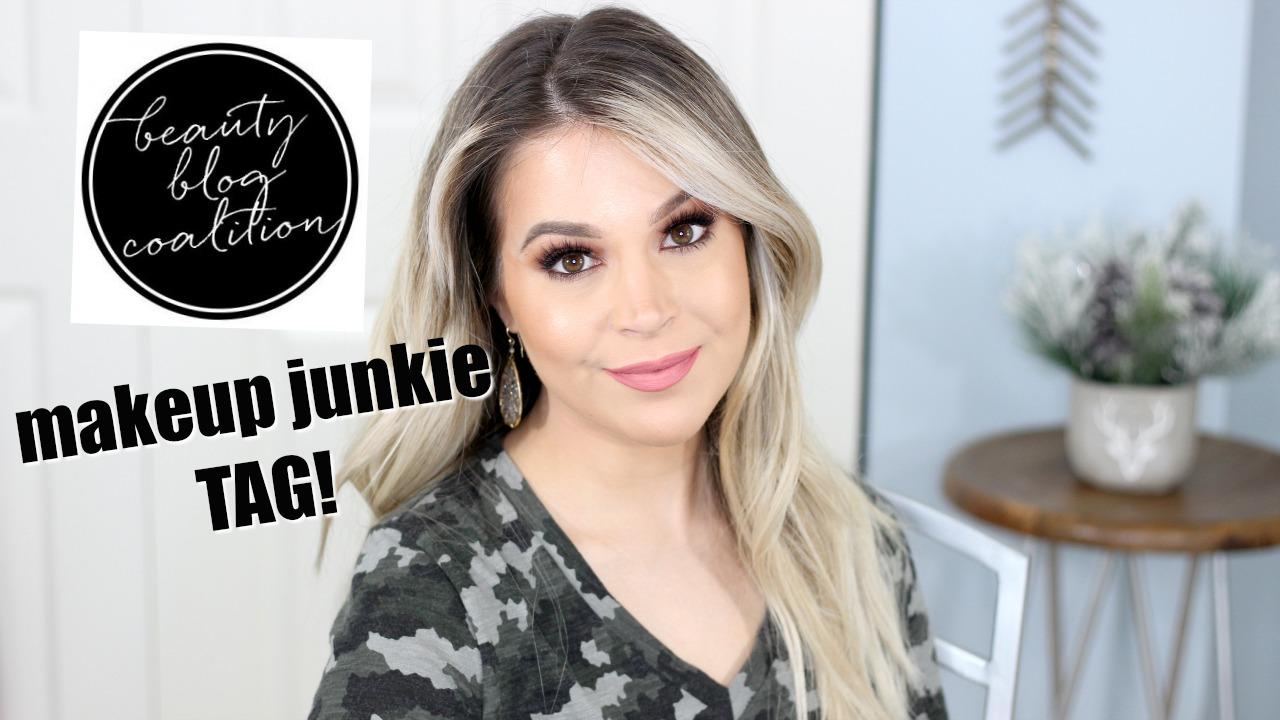 Makeup Junkie Tag Beauty Blog Coalition Brighter Darling Blog YouTube