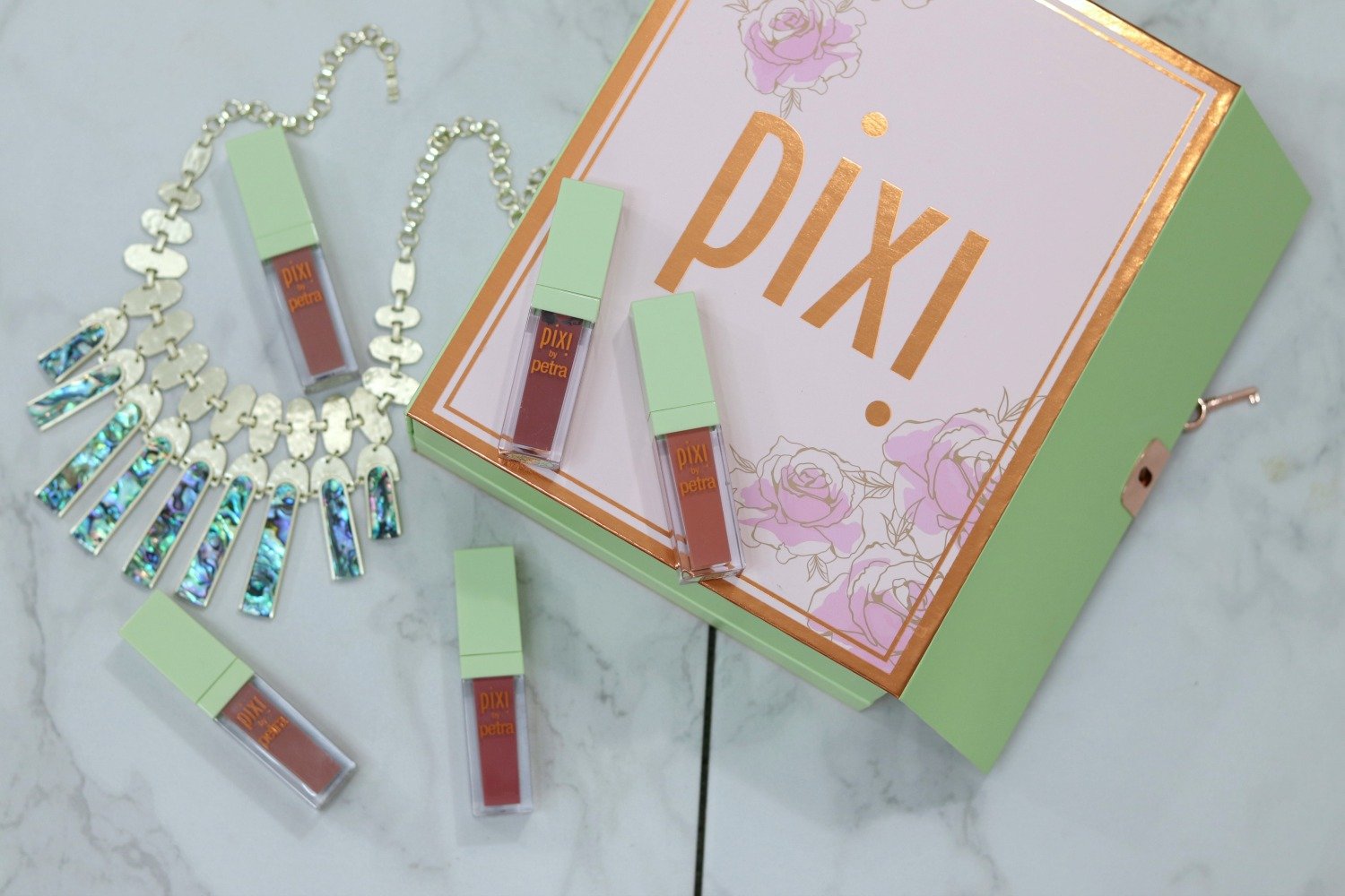 PIXI Mattelast Liquid Lip Review Brighter Darling Blog