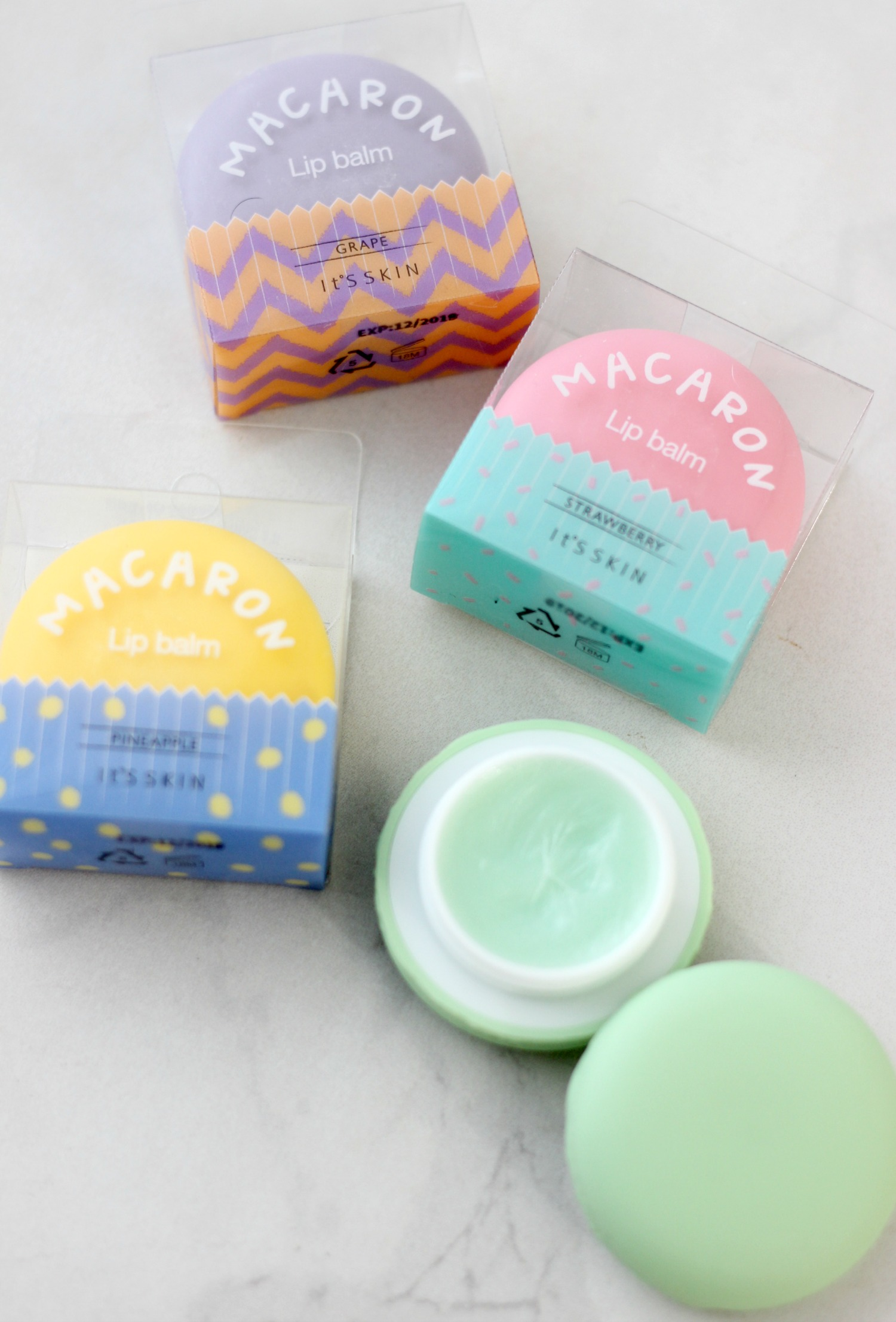 It's Skin Macaron Lip Balms Review