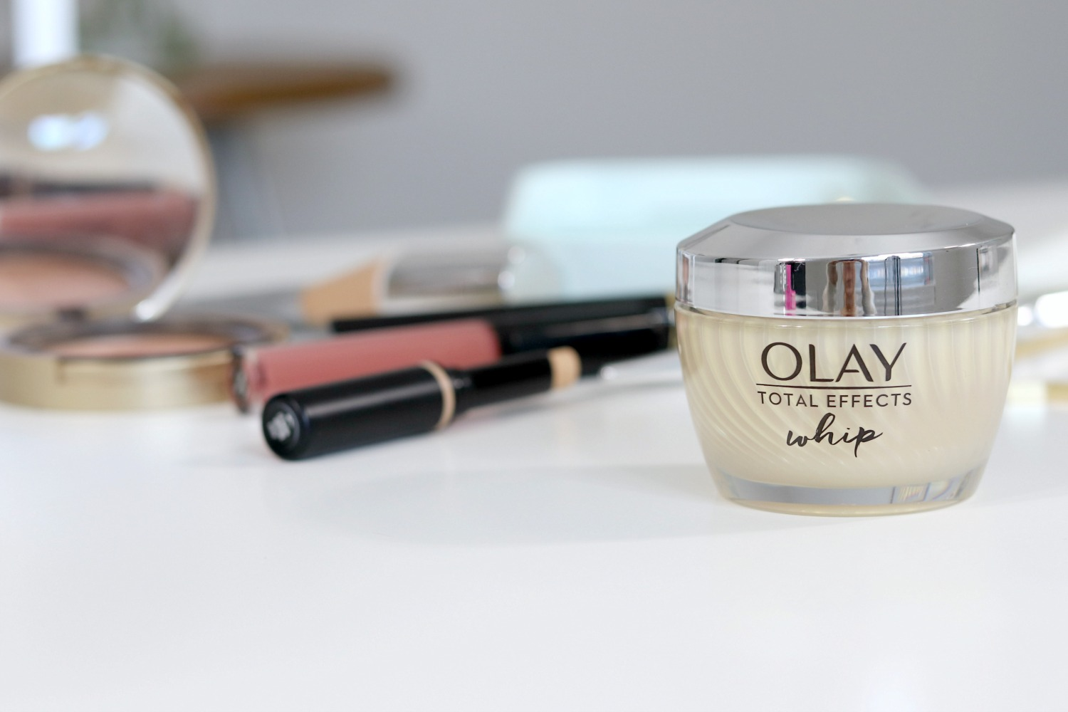 Moisturizer That Saves Time In The Morning Olay Whips Review | Lightweight Drugstore Anti Aging Moisturizer
