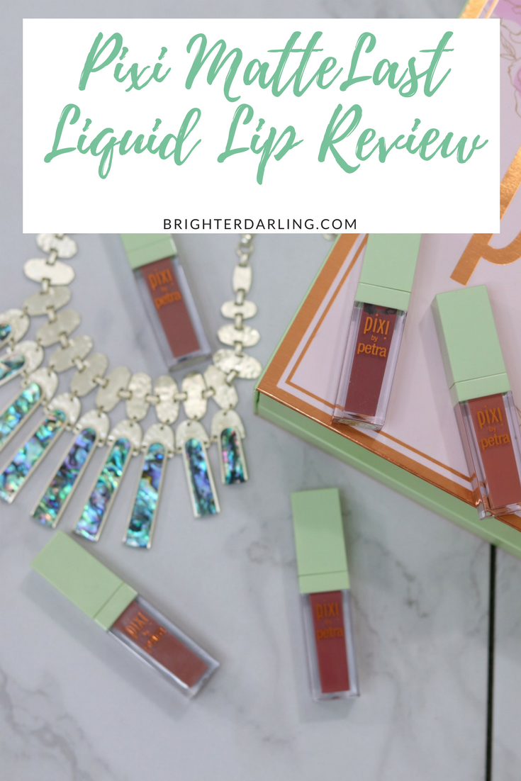 Pixi MatteLast Liquid Lip Review Pinterest Drugstore Liquid Lipsticks