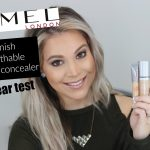 RIMMEL Lasting Finish 25hr Breathable Foundation + Concealer Review [YouTube]