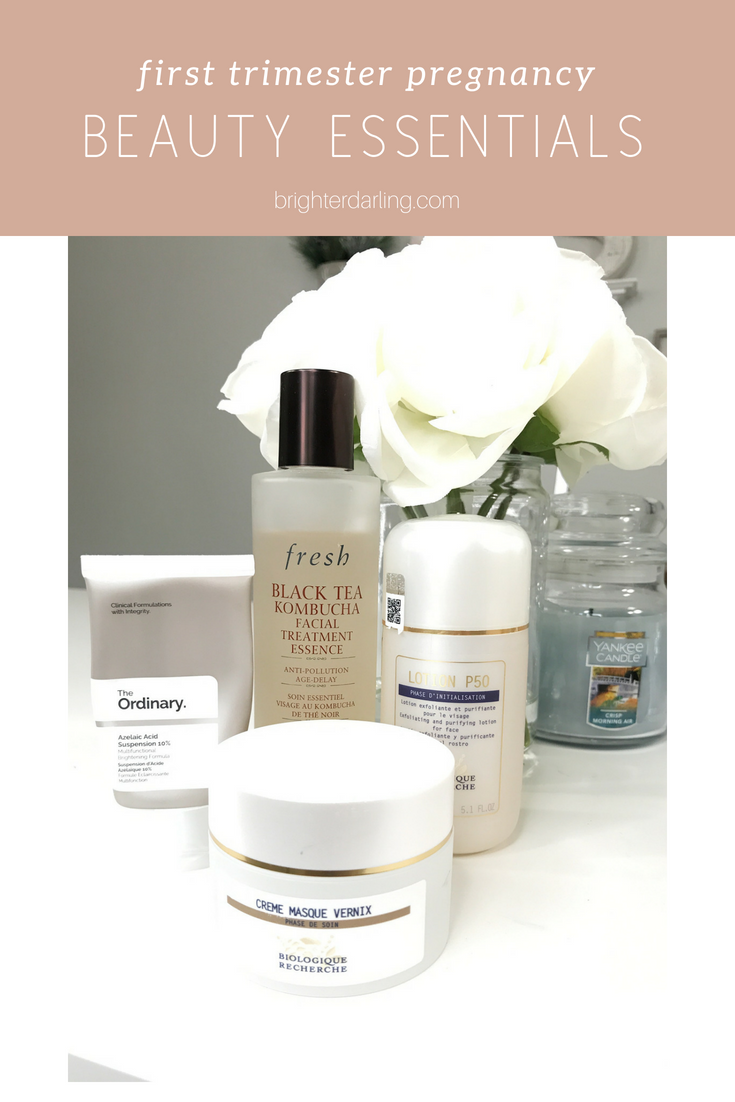 First Trimester Beauty Essentials _ First Trimester Beauty Must Haves for Acne Prone Skin