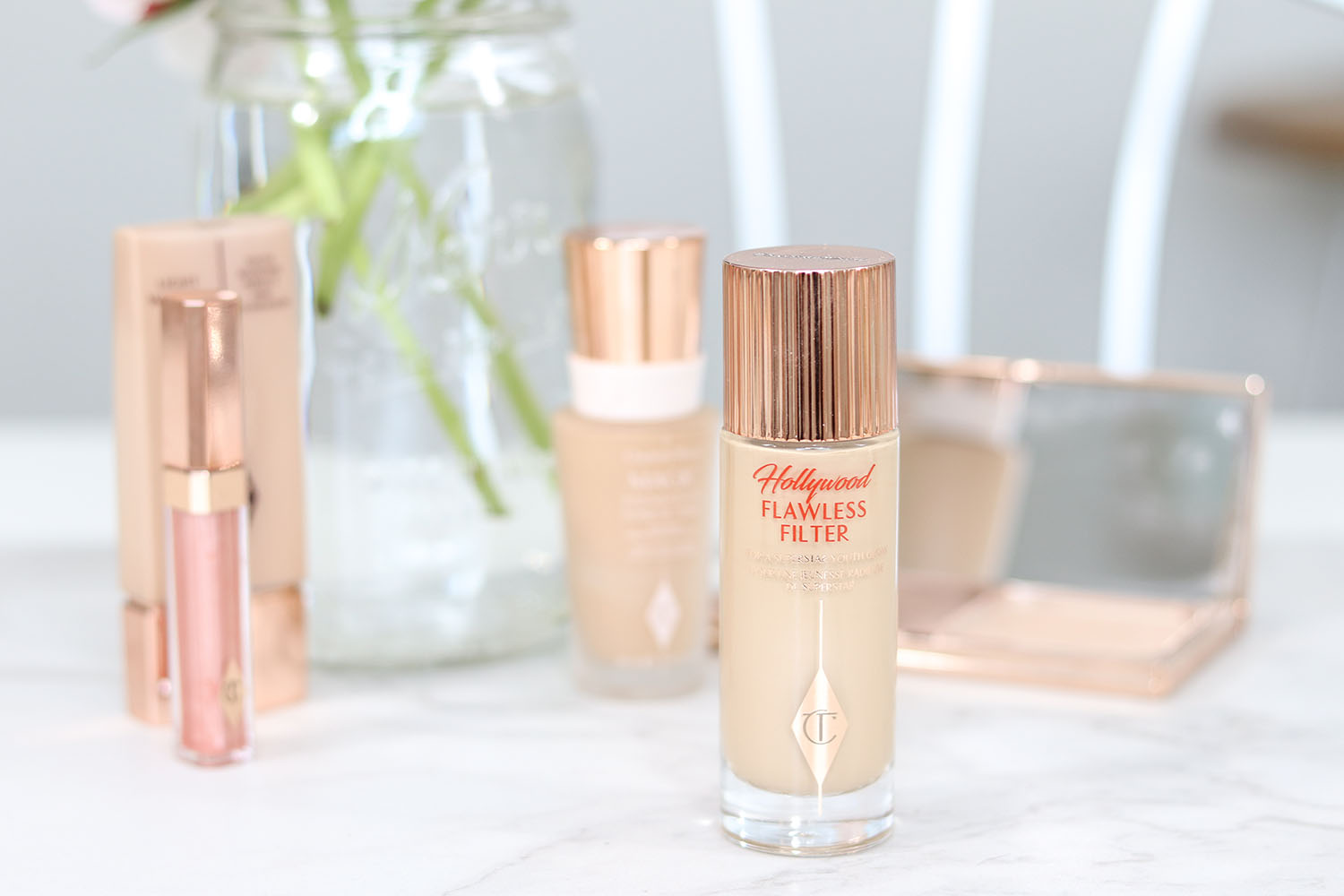 Charlotte Tilbury Hollywood Flawless Filter Review and Demo