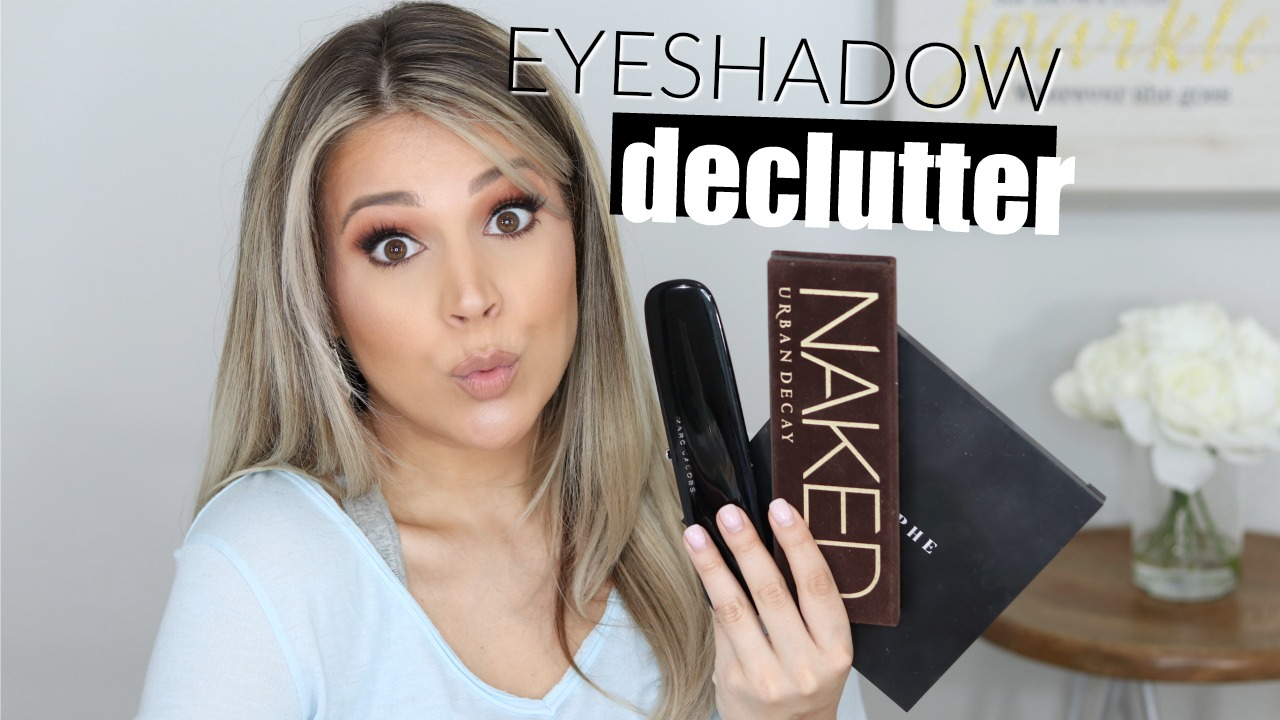 Eyeshadow Collection and Declutter Thumb