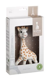 Sophie le Girafe Teething Soother Toy | Most Recommended Baby Items To Register For 2018