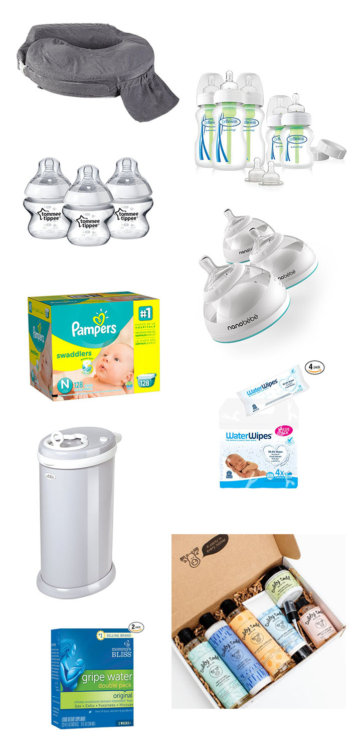 Most Recommended Baby Items To Register For 2018 | Brighter Darling Blog | Most Recommended Feeding Bottle Options Baby 2018