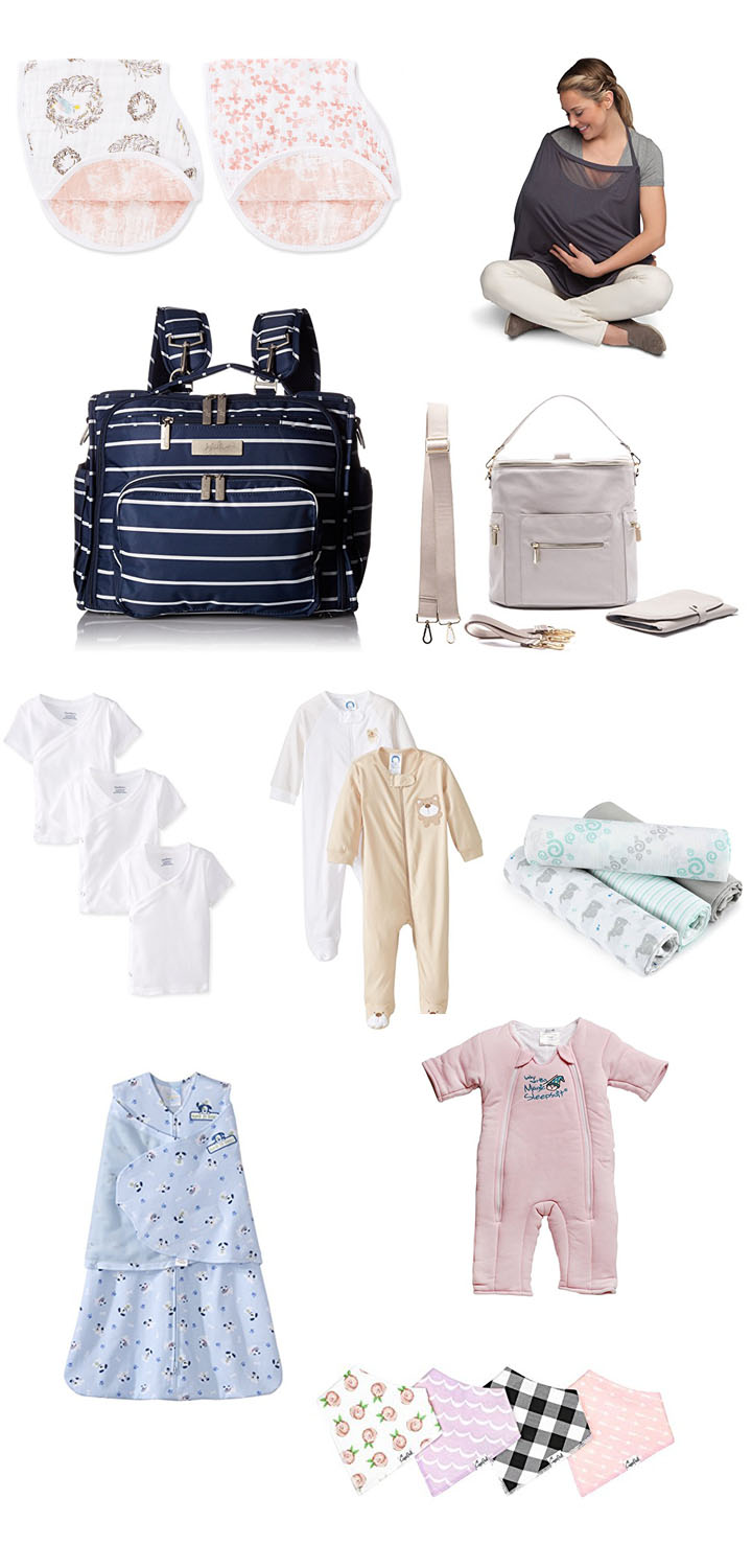 most recommended baby items to register for clothing accessories