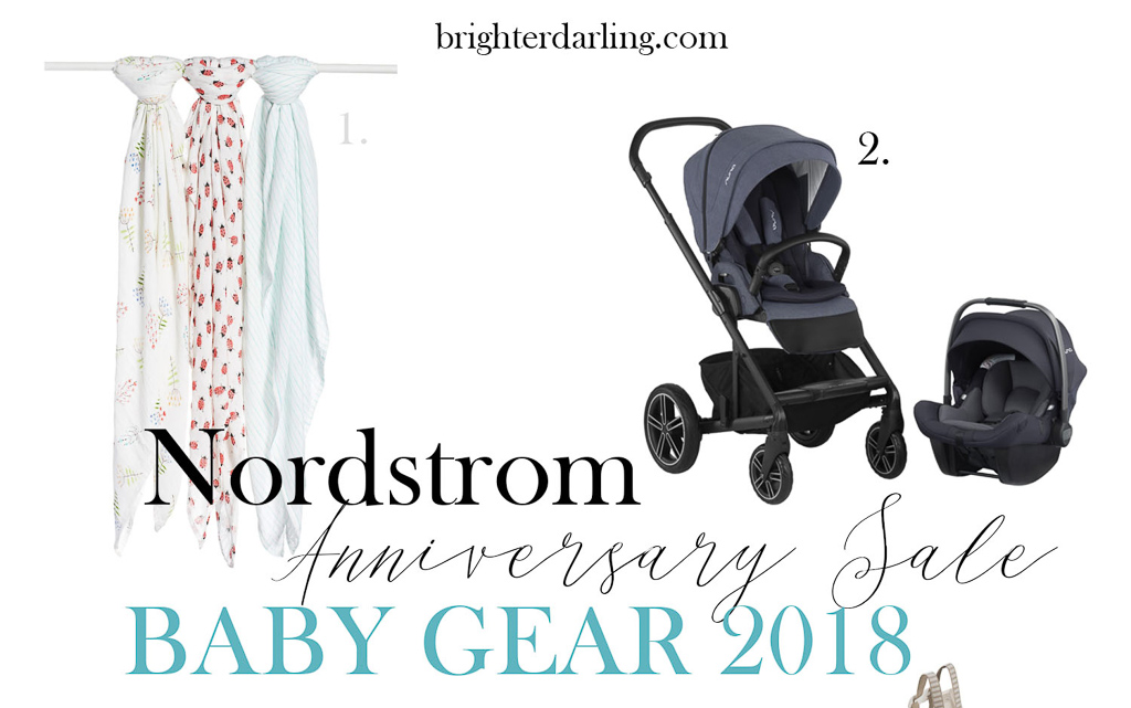Nordstrom Anniversary Sale 2018 Baby Picks hero | Brighter Darling Blog | Beauty and Lifestyle Blog Philadelphia | Beauty and Lifestyle Blog New Jersey