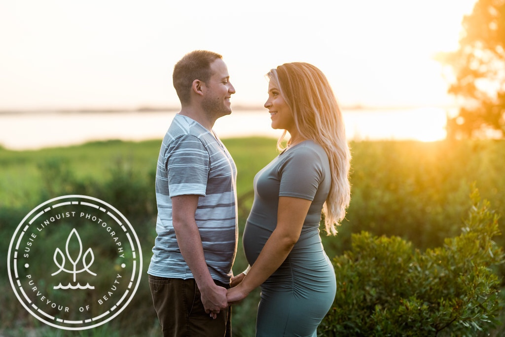 Babymoon in Wilmington NC | Babymoon in Wrightsville Beach NC | Maternity Shoot at Fort Fisher NC