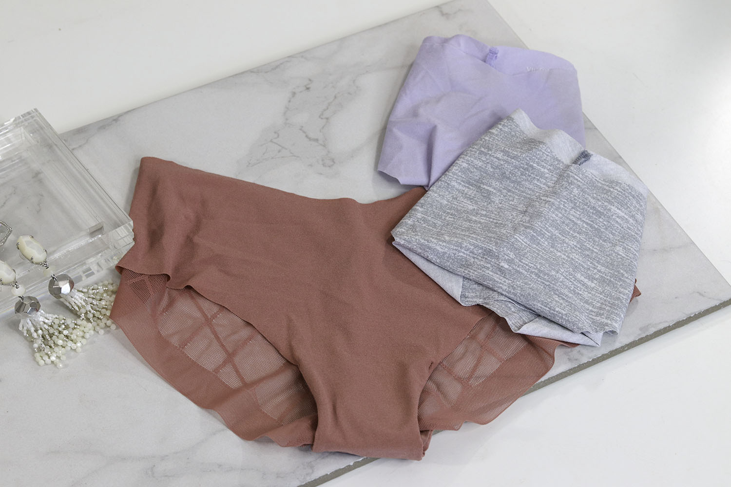 2nd trimester style essentials | seamless undies victorias secret | brighter darling