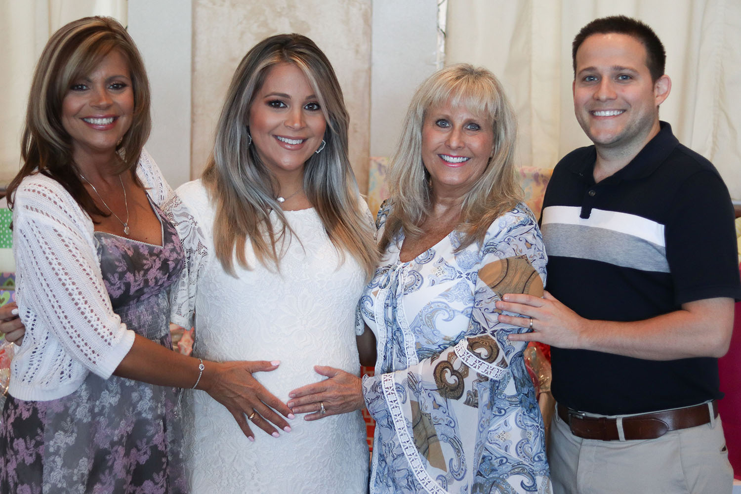 Brighter Darling Baby Shower Family