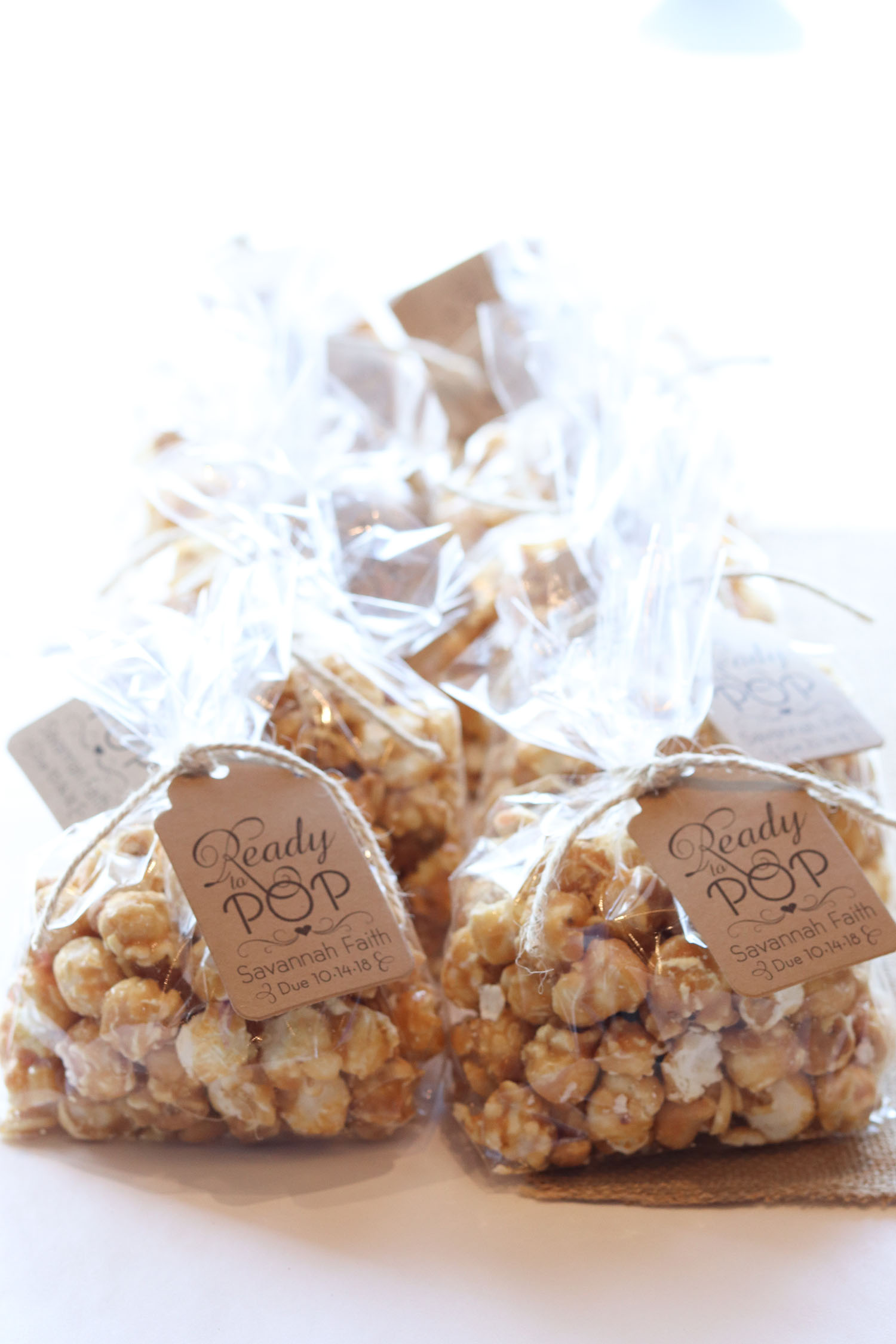 Simple Neutral Baby Shower Party Favors | Edible Party Favors | Edible Baby Shower Party Favors | Ready To Pop Baby Shower Party Favors