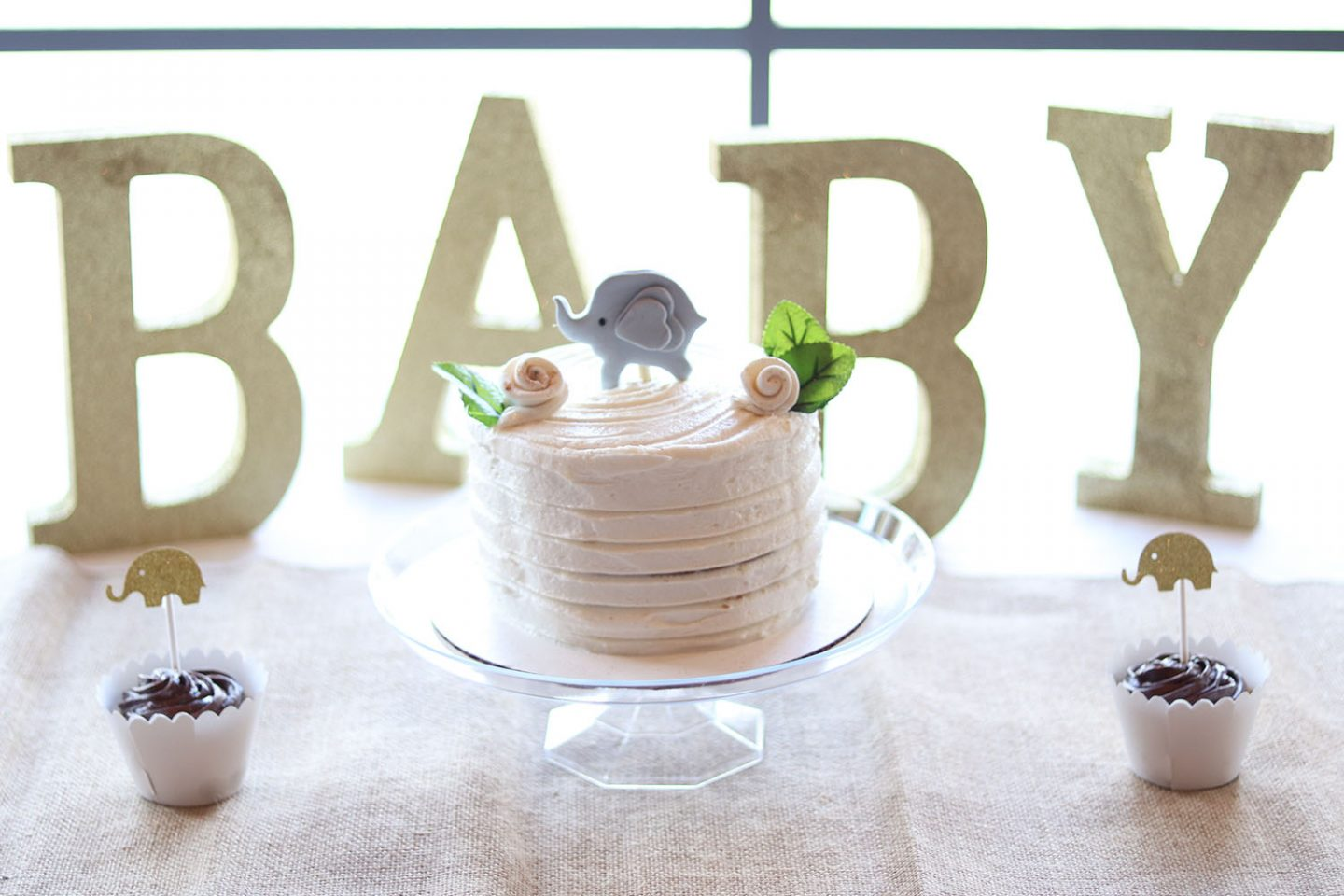 My Simple Neutral Baby Shower For Baby Girl | Brighter Darling Blog