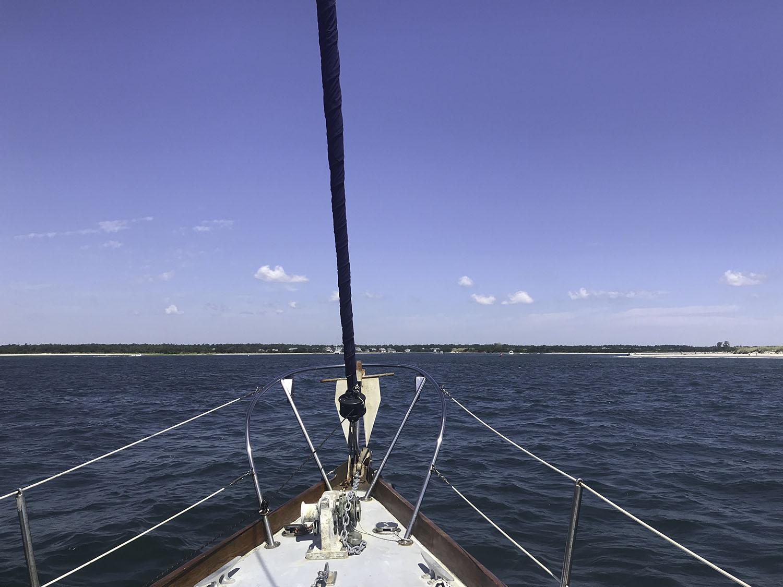 Yacht Ride to Masonboro Island NC | Babymoon Wilmington NC