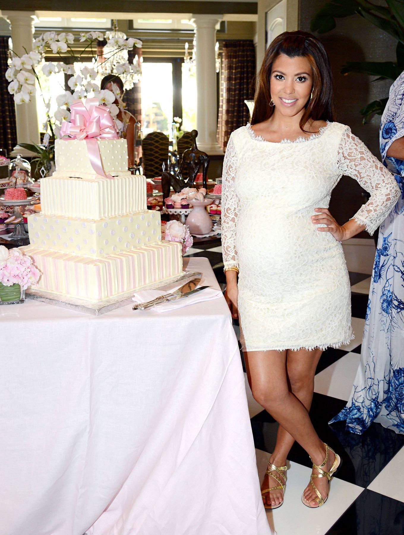 Kourtney Kardashian Baby Shower Outfit