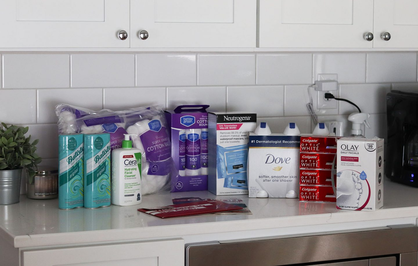 Health and Beauty Essentials at BJ's Wholesale Club   Batiste Dry Shampoo, CeraVe Hydrating Facial Cleanser, Neutrogena Makeup Removing Wipes, Dove Body Wash wholesale prices   Brighter Darling Blog