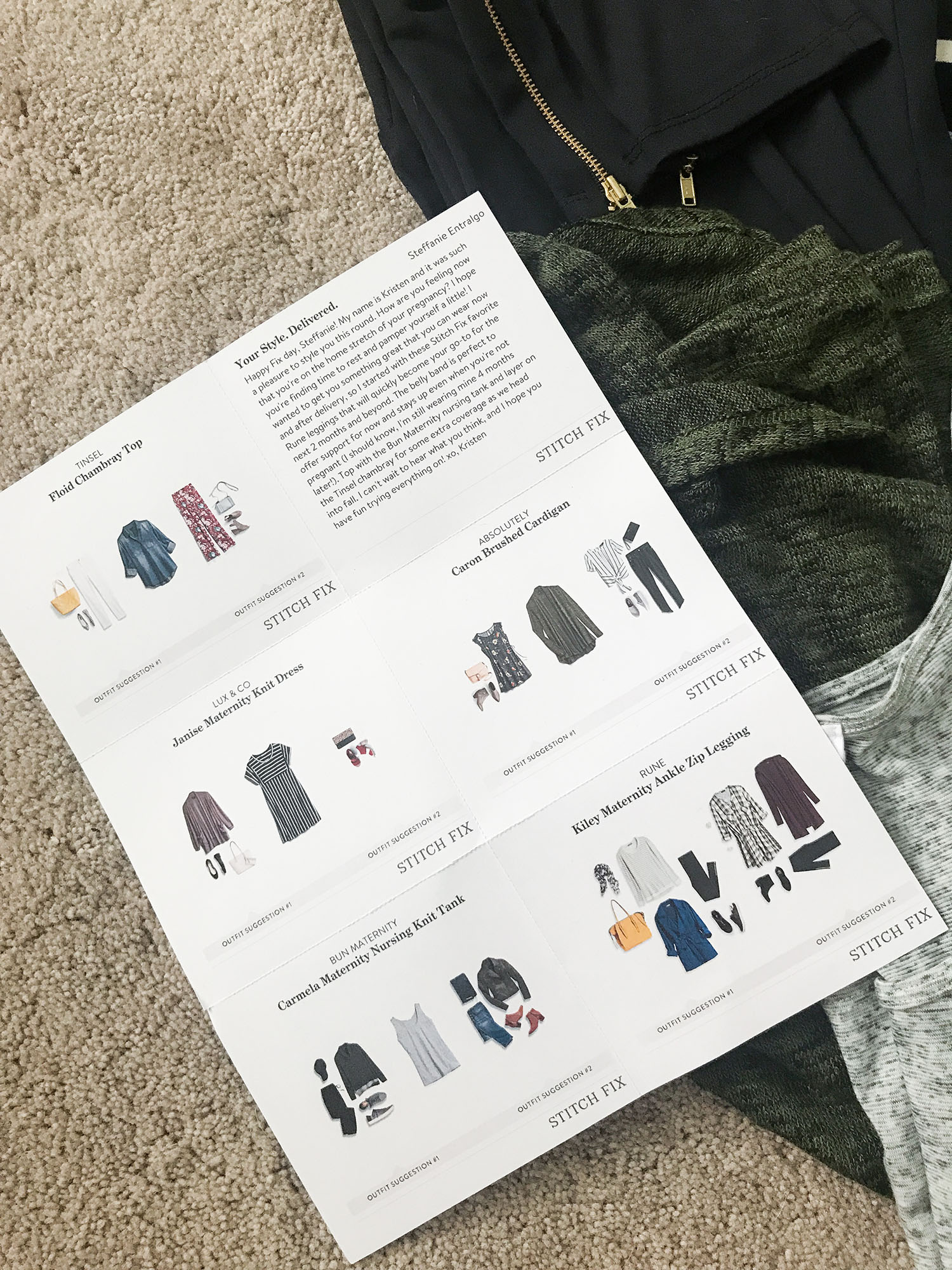 Stitch Fix Maternity Review and Unboxing and Try On Haul