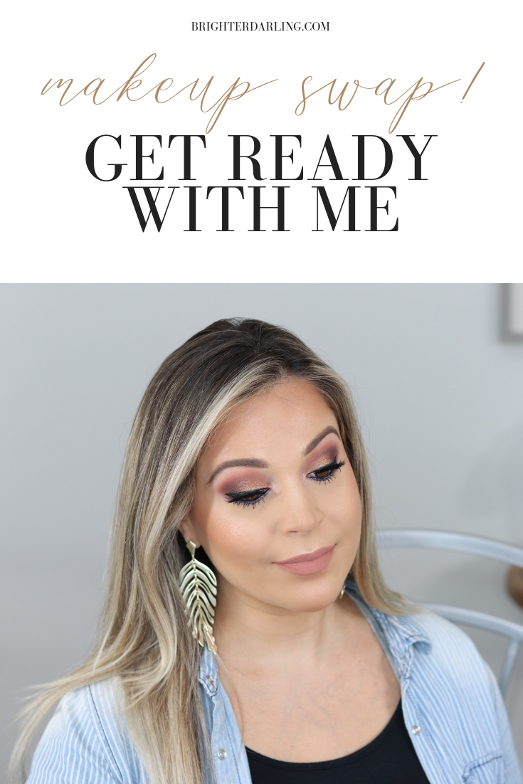 MAKEUP SWAP GET READY WITH ME TUTORIAL USING DRUGSTORE MAKEUP