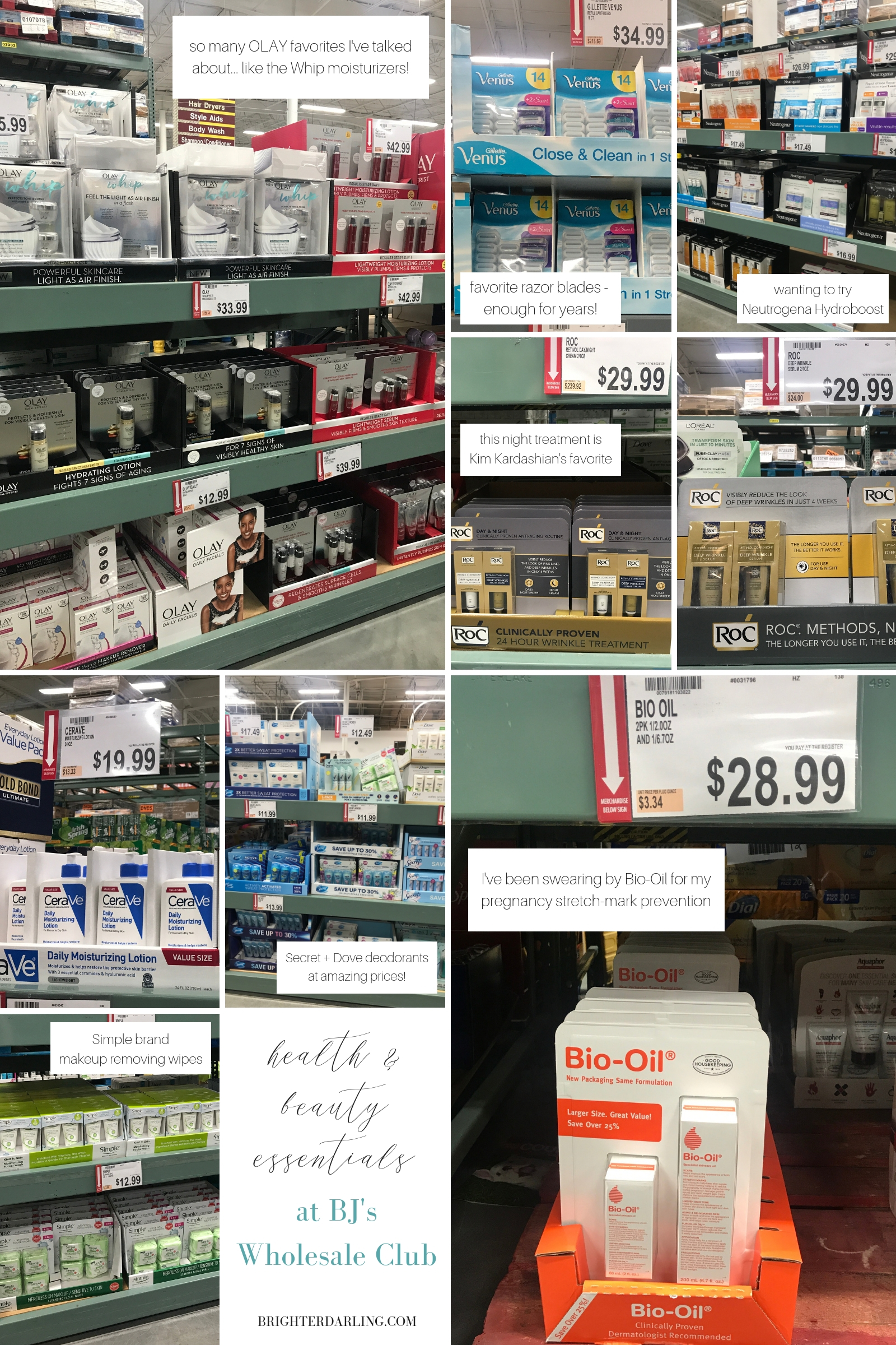 health and beauty essentials at BJs Wholesale Club   Brighter Darling Blog