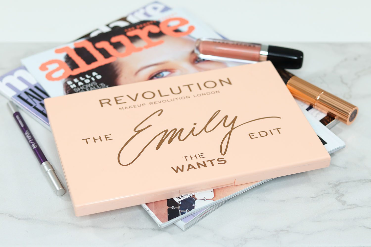 Makeup Revolution The Emily Edit The Wants Review | Brighter Darling