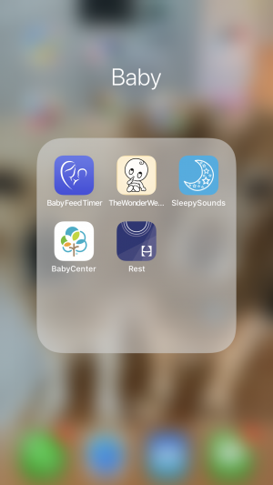 Must Have Baby Apps For Your Phone | newborn must haves to keep you sane