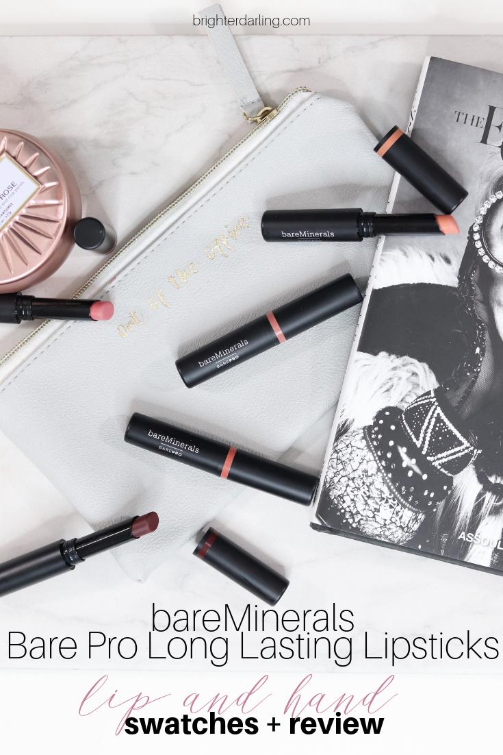 bareMinerals Bare Pro Long Lasting Lipsticks