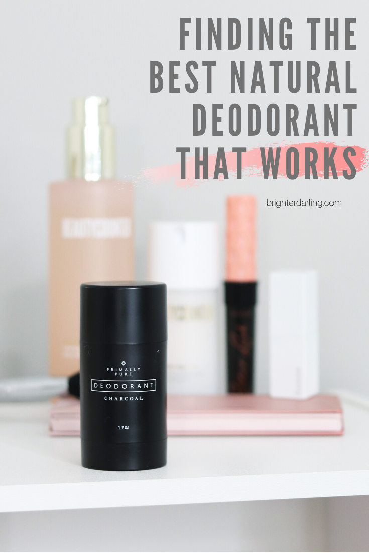 finding the best natural deodorant that works _ primally pure review _ brighter darling blog