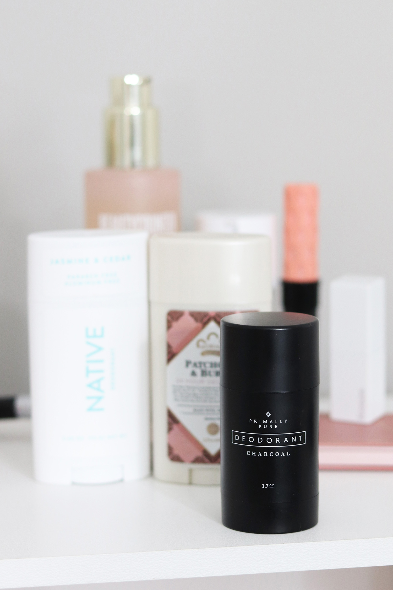 primally pure natural deodorant charcoal review discount code | brighter darling blog