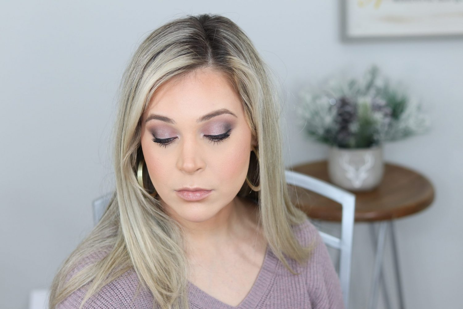 Clean Beauty Date Night Glam Makeup