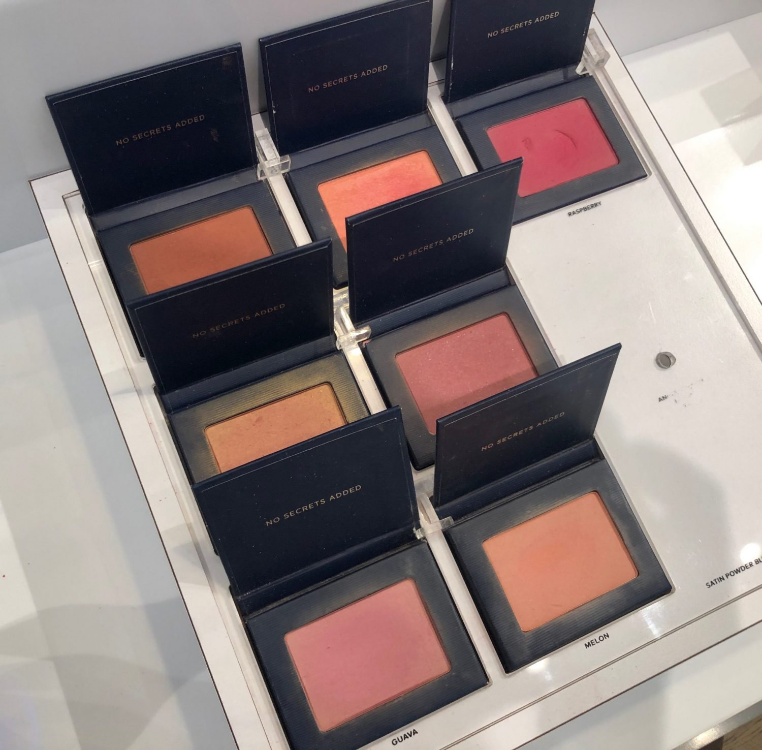 Beautycounter Satin Powder Blushes NYC Store | 5 Favorite Beautycounter Makeup Products