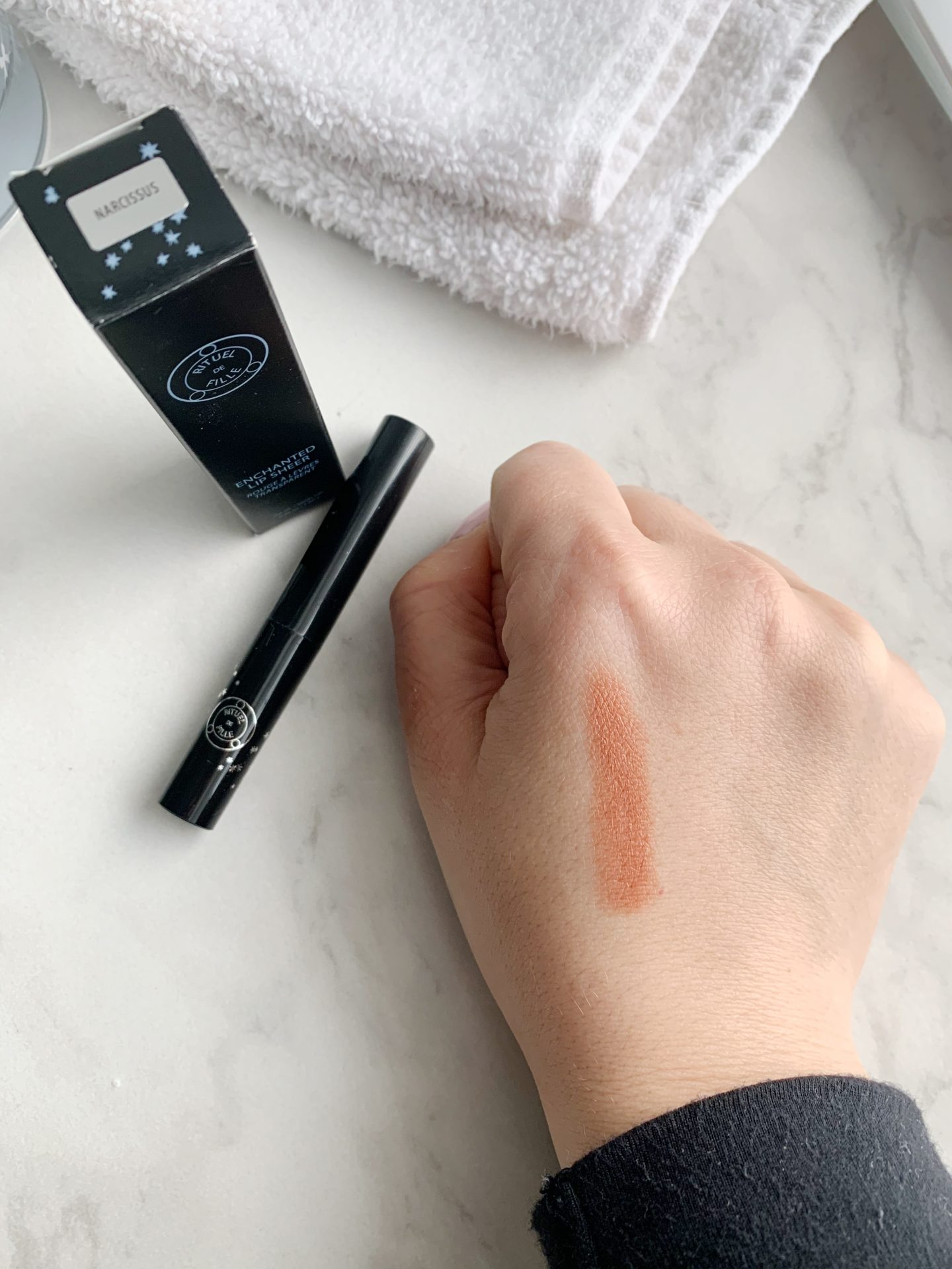 Rituel de Fille Narcissus Lip Color   Trying Naked Poppy