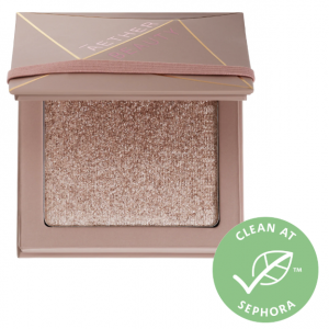 AETHER BEAUTY Supernova Crushed Diamond Highlighter, Silver Sparkle | Shopping the April 2020 Sephora Sale