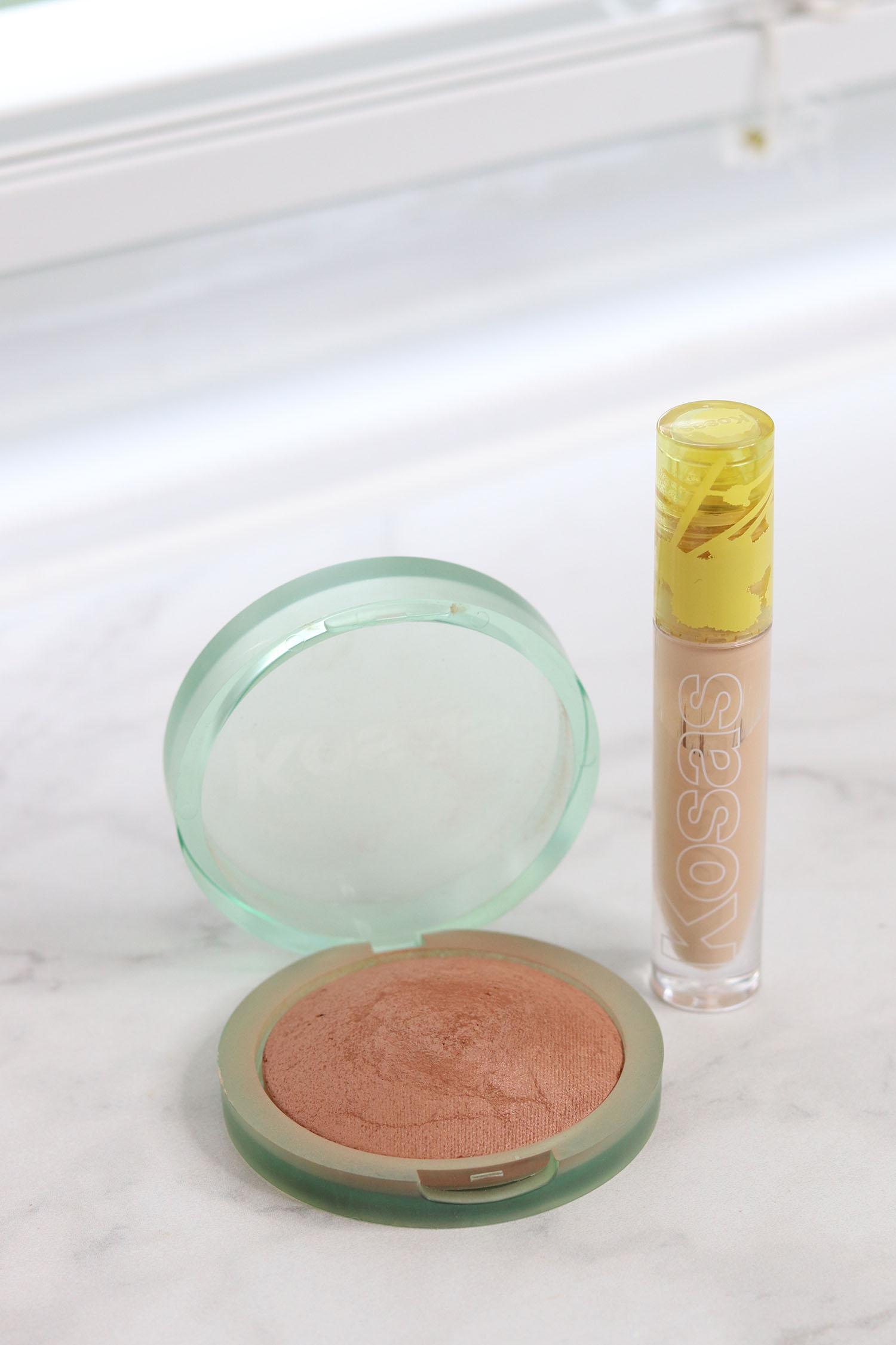 Kosas Bronzer in Medium, Kosas Revealer Concealer in Shade 4 | Spring Beauty Haul