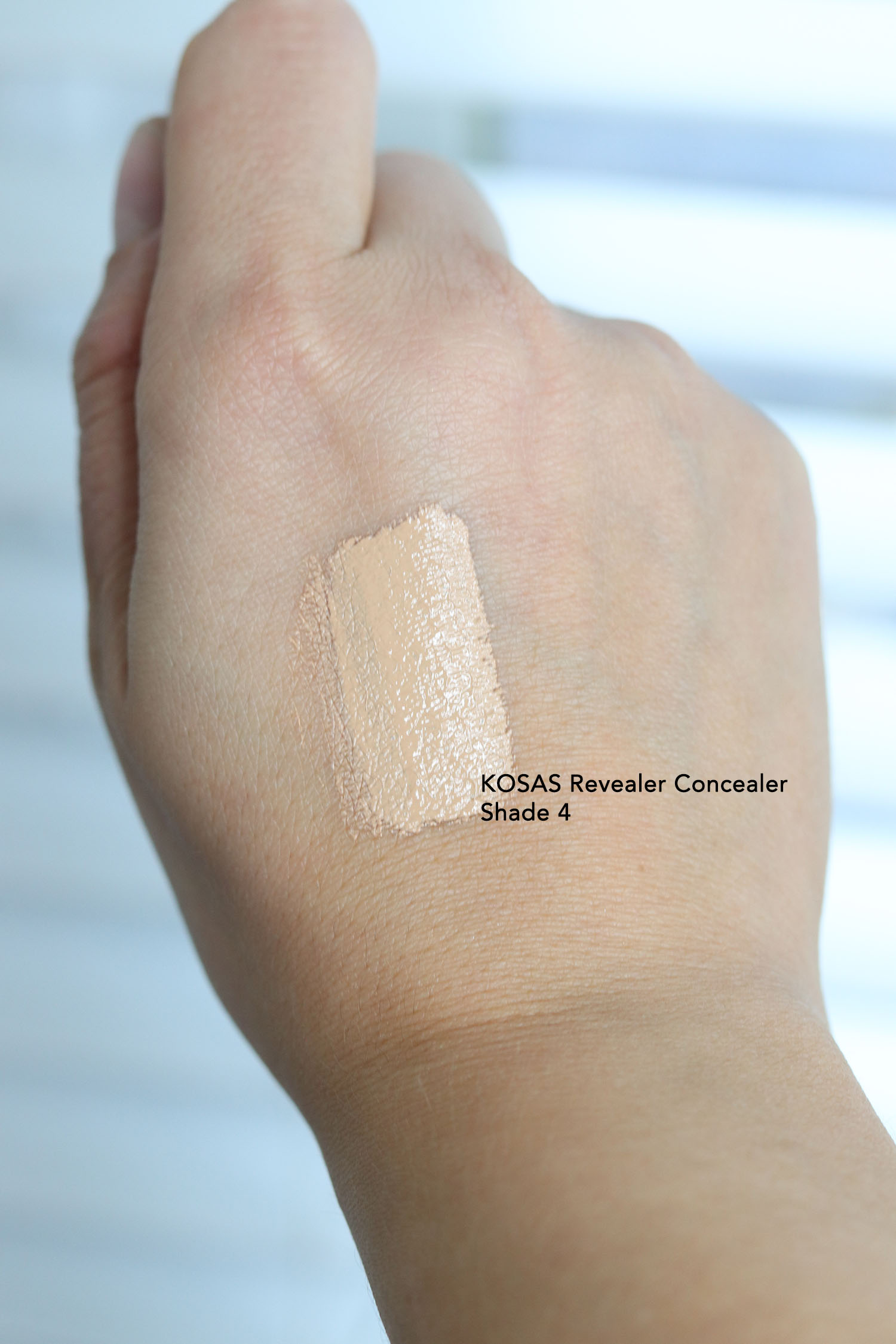 KOSAS Revealer Concealer Shade 4 Swatch
