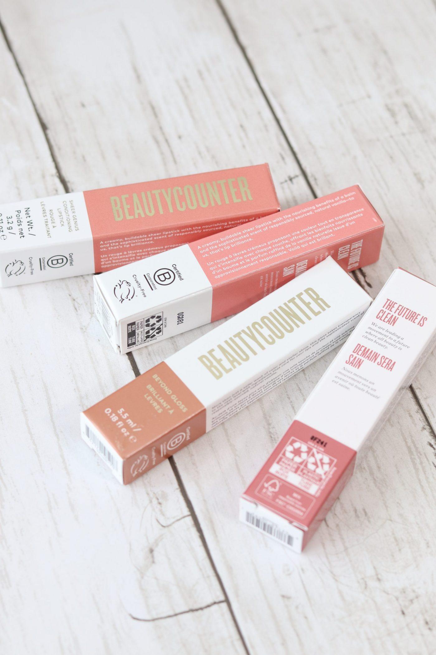 Beautycounter Beyond Gloss Packaging