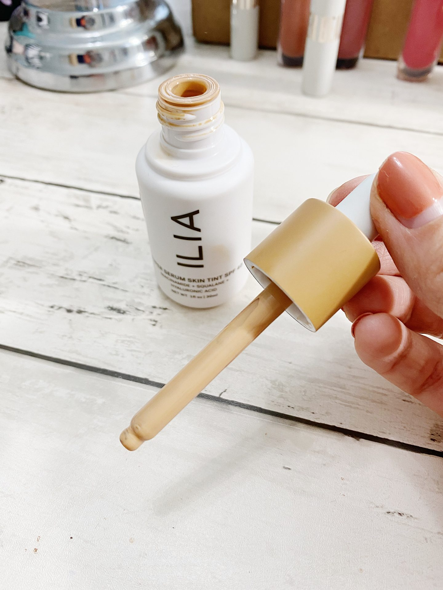 Ilia Super Serum Skin Tint SPF40 ST 11 Matira | New Clean Beauty Haul