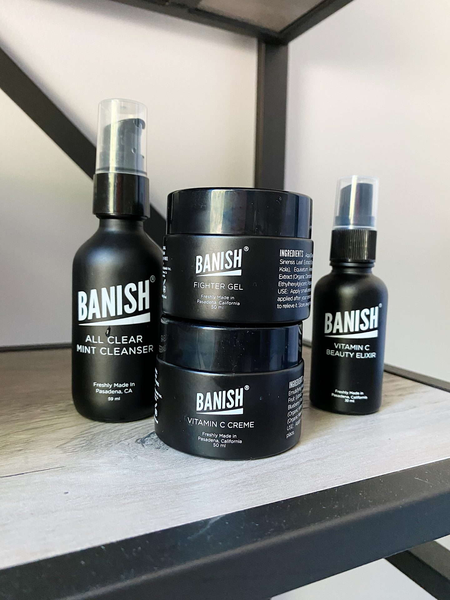 Banish Skincare Regimen | Banish Skincare Starter Kit | Clean Beauty Haul