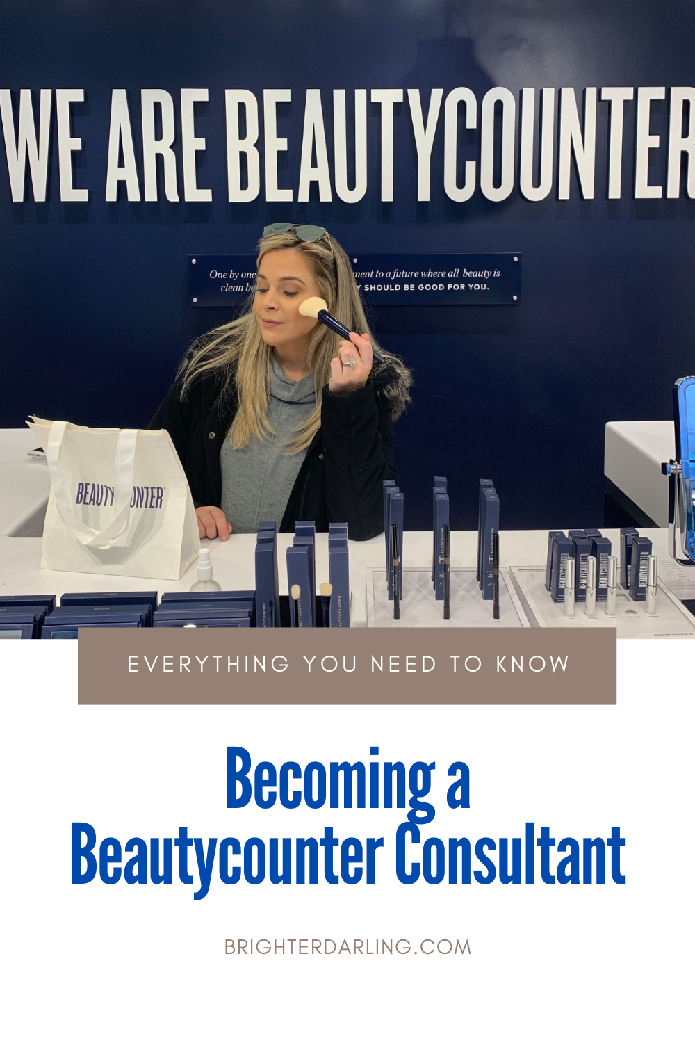 Becoming a Beautycounter Consultant | EVERYTHING YOU NEED TO KNOW | Pros and Cons of Beautycounter Consultant