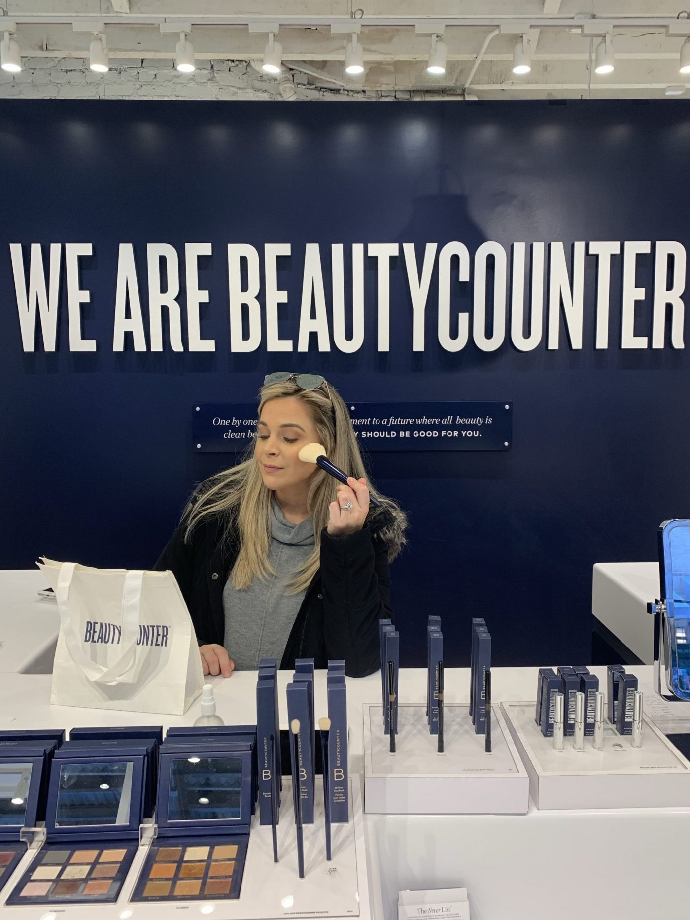 Brighter Darling at Beautycounter Retail Store New York City Prince Street | One Year Later Joining Beautycounter