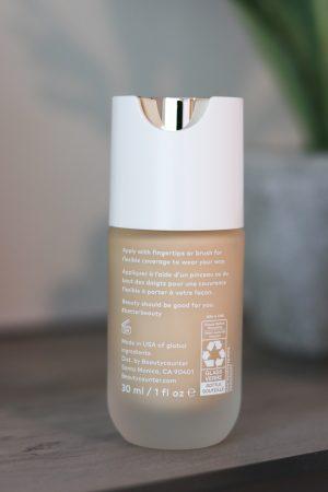 Beautycounter Skin Twin Foundation Back of Bottle Close Up