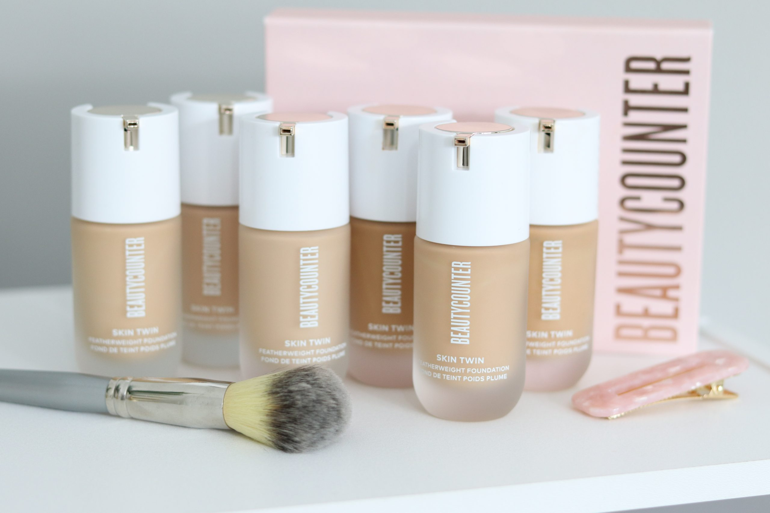 Beautycounter Skin Twin Foundation Review and Demo