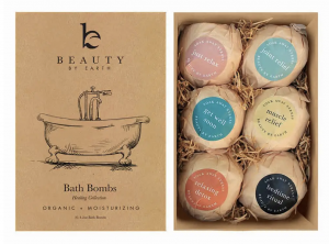 Beauty by Earth Nontoxic Bath Bombs good for tweens and teens | Non toxic body care bath care