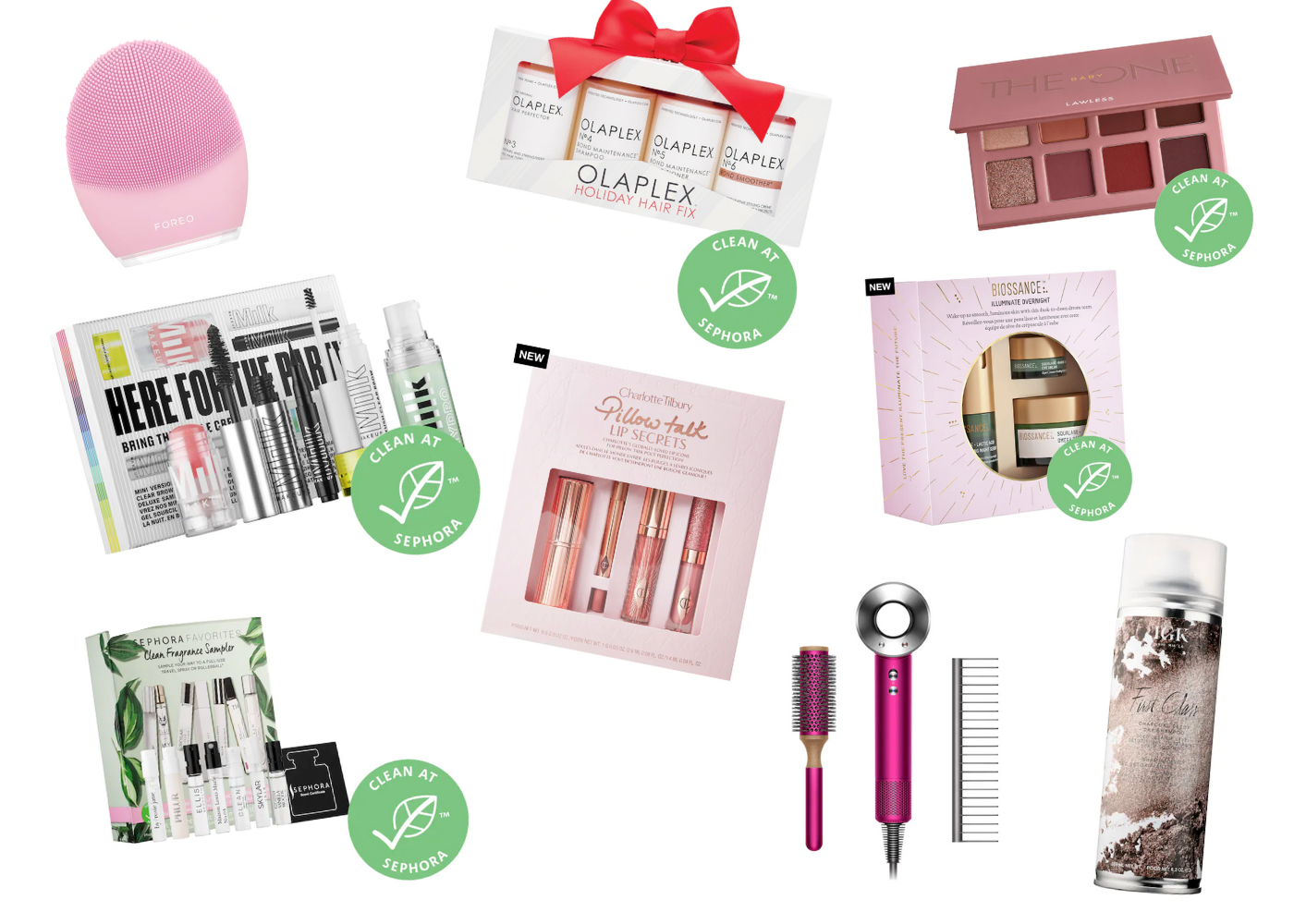 What to get from the sephora sale 2020 _ Foreo Luna, Olaplex, Lawless the baby one, biossance, sephora clean fragrance sampler