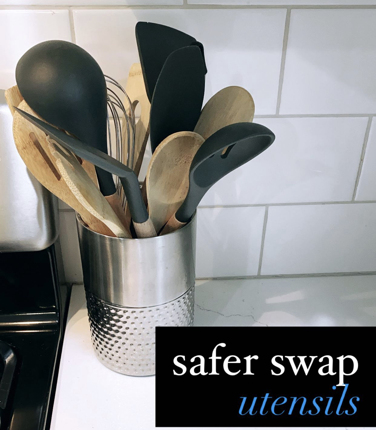 Safer Nontoxic Cooking Utensils | Bamboo Cooking Utensils | Silicone Cooking Utensils