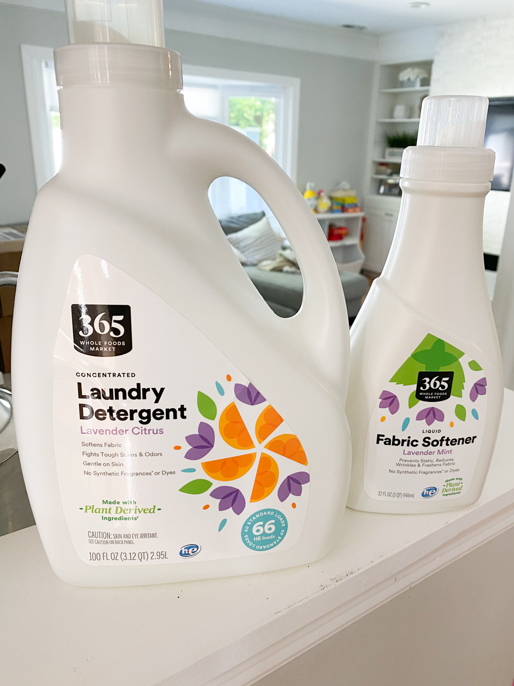 Whole Foods 365 Laundry Detergent and Softener | Nontoxic Living Laundry Products That Work | My favorite nontoxic living products
