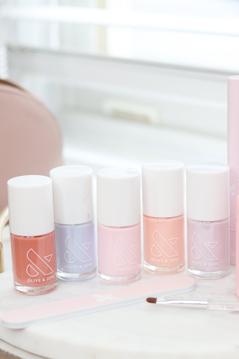 Olive and June Nail Polish Review | Olive and June Malibu Sunset Set